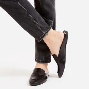 EVERLANE The Day Loafer Mule Black Size 9.5